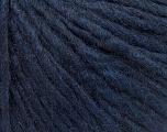 Fiber Content 50% Merino Wool, 25% Alpaca, 25% Acrylic, Navy, Brand ICE, Yarn Thickness 4 Medium  Worsted, Afghan, Aran, fnt2-57222