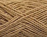 Fiber Content 100% Cotton, Brand ICE, Beige, Yarn Thickness 2 Fine  Sport, Baby, fnt2-57298