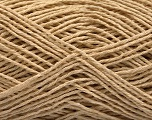 Fiber Content 100% Cotton, Brand ICE, Beige, Yarn Thickness 2 Fine  Sport, Baby, fnt2-57300