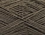 Fiber Content 100% Cotton, Brand ICE, Dark Khaki, Yarn Thickness 2 Fine  Sport, Baby, fnt2-57304