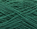 Fiber Content 100% Cotton, Brand ICE, Emerald Green, Yarn Thickness 2 Fine  Sport, Baby, fnt2-57308