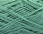 Fiber Content 100% Cotton, Mint Green, Brand ICE, Dark Mint Green, Yarn Thickness 2 Fine  Sport, Baby, fnt2-57309