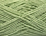 Fiber Content 100% Cotton, Light Green, Brand ICE, Yarn Thickness 2 Fine  Sport, Baby, fnt2-57314