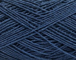 Fiber Content 100% Cotton, Navy, Brand ICE, Yarn Thickness 2 Fine  Sport, Baby, fnt2-57315