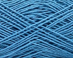 Fiber Content 100% Cotton, Brand ICE, Blue, Yarn Thickness 2 Fine  Sport, Baby, fnt2-57316