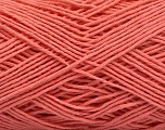 Fiber Content 100% Cotton, Salmon, Brand ICE, Yarn Thickness 2 Fine  Sport, Baby, fnt2-57322