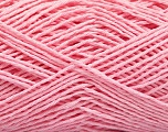 Fiber Content 100% Cotton, Brand ICE, Baby Pink, Yarn Thickness 2 Fine  Sport, Baby, fnt2-57329