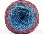 Fiber Content 75% Superwash Wool, 25% Polyamide, Orchid, Brand ICE, Grey, Blue Shades, fnt2-57339