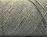 Fiber Content 50% Wool, 50% Acrylic, Brand ICE, Grey, Yarn Thickness 3 Light  DK, Light, Worsted, fnt2-57345