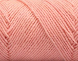 Fiber Content 50% Wool, 50% Acrylic, Light Salmon, Brand ICE, Yarn Thickness 3 Light  DK, Light, Worsted, fnt2-57346