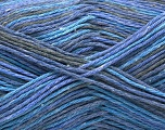Fiber Content 100% Acrylic, Lavender, Brand ICE, Grey, Blue, Yarn Thickness 2 Fine  Sport, Baby, fnt2-57348