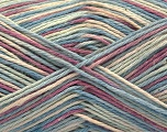 Fiber Content 100% Acrylic, Orchid, Brand ICE, Cream, Blue Shades, Yarn Thickness 2 Fine  Sport, Baby, fnt2-57367