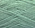 Fiber Content 80% Acrylic, 20% Polyamide, Mint Green, Brand ICE, Yarn Thickness 3 Light  DK, Light, Worsted, fnt2-57377