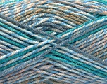 Fiber Content 100% Acrylic, Turquoise, Brand ICE, Camel, Blue Shades, Beige, fnt2-57385