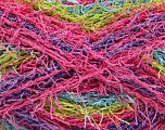 If you want to crochet or knit up washcloths or dishcloths.  That name is SCRUBBER TWIST. Washing instructions: Machine wash warm on a gentle cycle. Do not iron. Tumble dry Fiber Content 100% Polyester, Turquoise, Pink, Lilac, Brand ICE, Green, Yarn Thickness 4 Medium  Worsted, Afghan, Aran, fnt2-57391