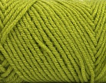 Items made with this yarn are machine washable & dryable. Fiber Content 100% Acrylic, Light Green, Brand ICE, Yarn Thickness 4 Medium  Worsted, Afghan, Aran, fnt2-57417