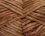 Fiber Content 100% Micro Fiber, Brand ICE, Brown, Yarn Thickness 4 Medium  Worsted, Afghan, Aran, fnt2-57623