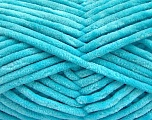 Fiber indhold 100% Micro Fiber, Light Turquoise, Brand ICE, Yarn Thickness 4 Medium  Worsted, Afghan, Aran, fnt2-57639