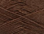 Fiber Content 65% Merino Wool, 35% Silk, Brand ICE, Brown, Yarn Thickness 3 Light  DK, Light, Worsted, fnt2-57665