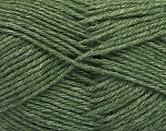 Fiber Content 65% Merino Wool, 35% Silk, Brand ICE, Dark Green, Yarn Thickness 3 Light  DK, Light, Worsted, fnt2-57670