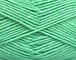 Fiber Content 65% Merino Wool, 35% Silk, Mint Green, Brand ICE, Yarn Thickness 3 Light  DK, Light, Worsted, fnt2-57673