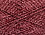Fiber Content 65% Merino Wool, 35% Silk, Maroon, Brand ICE, Yarn Thickness 3 Light  DK, Light, Worsted, fnt2-57674