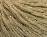 Fiber Content 100% Acrylic, Brand ICE, Beige, Yarn Thickness 3 Light  DK, Light, Worsted, fnt2-57692