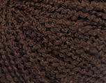 Fiber Content 90% Acrylic, 10% Polyamide, Brand ICE, Coffee Brown, fnt2-57722
