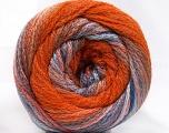 Fiber Content 90% Acrylic, 10% Polyamide, Pink, Orange, Lilac, Brand ICE, Blue, fnt2-57779