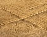 Fasergehalt 70% Mohair, 30% Acryl, Light Brown, Brand ICE, fnt2-57794