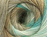 Fasergehalt 75% Acryl, 25% Angora, White, Turquoise, Brand ICE, Camel, Beige, fnt2-57799