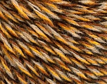 Conţinut de fibre 50% Lână, 50% Acrilic, Brand ICE, Gold, Brown, Black, Beige, Yarn Thickness 3 Light  DK, Light, Worsted, fnt2-57866