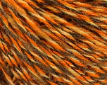 Conţinut de fibre 50% Acrilic, 50% Lână, Orange, Brand ICE, Cream, Camel, Yarn Thickness 3 Light  DK, Light, Worsted, fnt2-57869