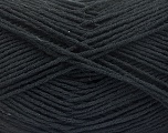 Conţinut de fibre 8% Poliamidă, 50% Acrilic, 25% Lână, 2% Elastan, 15% Alpaca, Brand ICE, Black, fnt2-57914