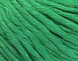 Fasergehalt 100% Baumwolle, Brand ICE, Green, Yarn Thickness 5 Bulky  Chunky, Craft, Rug, fnt2-57942
