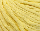 Fiber Content 100% Cotton, Light Yellow, Brand ICE, Yarn Thickness 5 Bulky  Chunky, Craft, Rug, fnt2-57943
