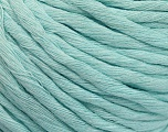 Fiber Content 100% Cotton, Light Turquoise, Brand ICE, Yarn Thickness 5 Bulky  Chunky, Craft, Rug, fnt2-57946
