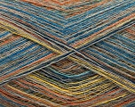 Conţinut de fibre 40% Baby alpaca, 40% Poliamidă, 20% Bumbac, Yellow, Turquoise, Orange, Navy, Brand ICE, Beige, Yarn Thickness 1 SuperFine  Sock, Fingering, Baby, fnt2-57953