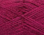 Fiber Content 50% Cotton, 30% Acrylic, 20% Metallic Lurex, Brand ICE, Fuchsia, fnt2-58013
