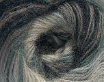 Fasergehalt 75% Acryl, 25% Angora, Brand ICE, Grey Shades, fnt2-58015