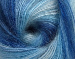 Fasergehalt 75% Acryl, 25% Angora, Brand ICE, Blue Shades, fnt2-58017