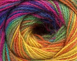 Fasergehalt 75% Acryl, 25% Angora, Rainbow, Brand ICE, fnt2-58022