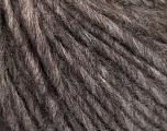 Fasergehalt 50% Merinowolle, 25% Alpaka, 25% Acryl, Brand ICE, Brown Melange, fnt2-58036