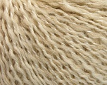 Fasergehalt 50% Wolle, 50% Acryl, Brand ICE, Cream melange, fnt2-58050