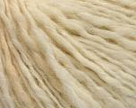Fasergehalt 50% Wolle, 50% Acryl, Brand ICE, Cream melange, fnt2-58055