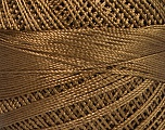 Fiber Content 100% Micro Fiber, Brand YarnArt, Brown, Yarn Thickness 0 Lace  Fingering Crochet Thread, fnt2-17307