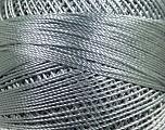 Fiber Content 100% Micro Fiber, Brand YarnArt, Grey, Yarn Thickness 0 Lace  Fingering Crochet Thread, fnt2-17311