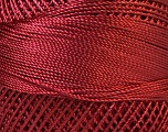 Fiber Content 100% Micro Fiber, Brand YarnArt, Red, Yarn Thickness 0 Lace  Fingering Crochet Thread, fnt2-17324