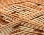 Fiber Content 100% Baby Acrylic, Brand Ice Yarns, Brown Shades, Yarn Thickness 2 Fine  Sport, Baby, fnt2-22038