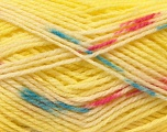 Fiber Content 100% Baby Acrylic, Yellow, White, Pink, Brand Ice Yarns, Blue, Yarn Thickness 2 Fine  Sport, Baby, fnt2-22042